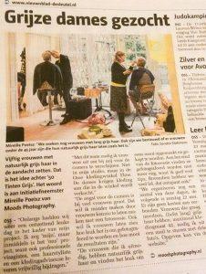 Foto van Sandra Stokmans Fotografie in Nieuwsblad De Sleutel, Oss