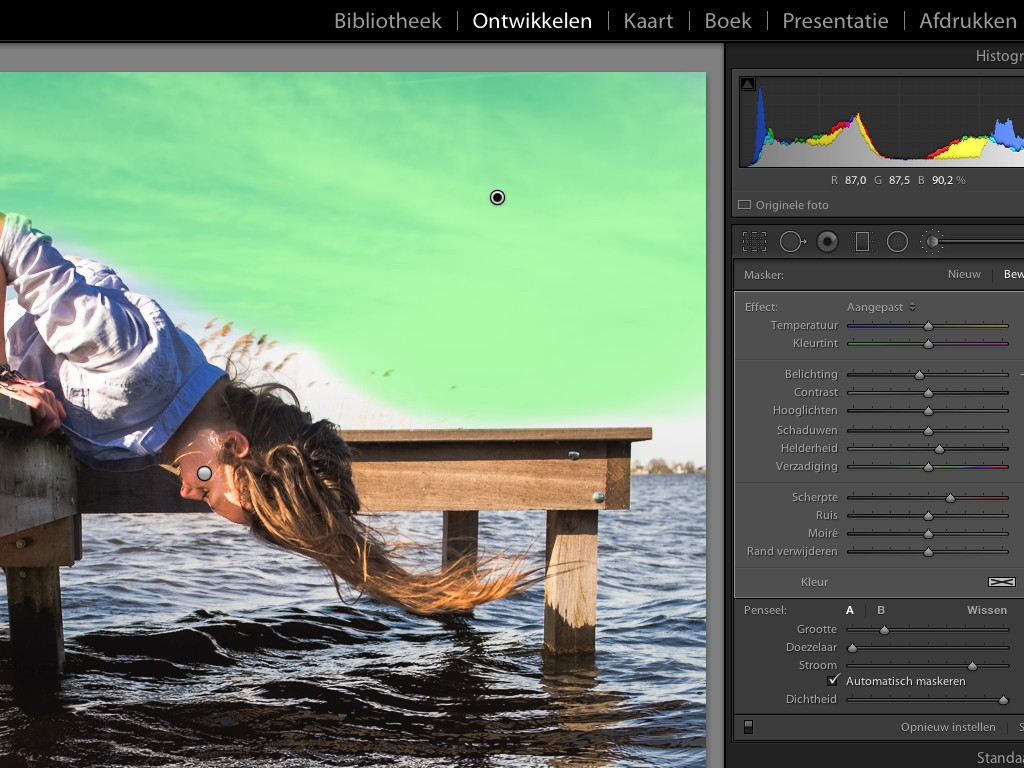 Lightroom, Adobe Lightroom, Adobe, aanpassingspaneel, lokale aanpassingen, Local adjustments