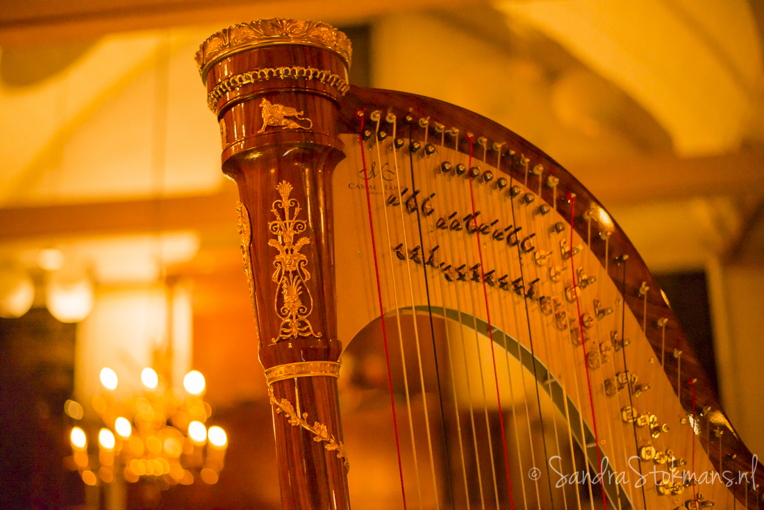 Concert in Tienhoven, Ensemble Lumaka, harp, harpiste, Sandra Stokmans, Stokmans, lifestyle fotografie