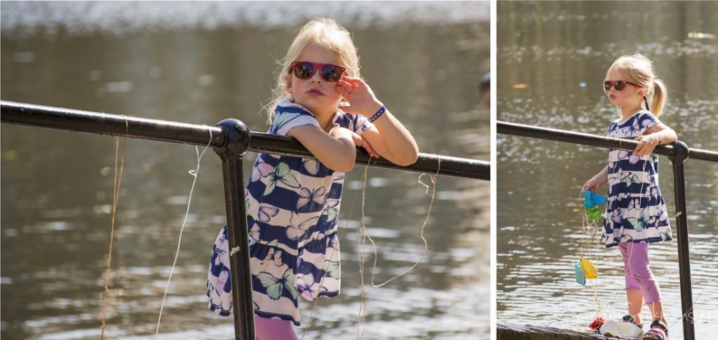 Meisje bij Hofvijver Den Haag na afloop van het initiatief van Liesje Doet, portret fotografie Sandra Stokmans