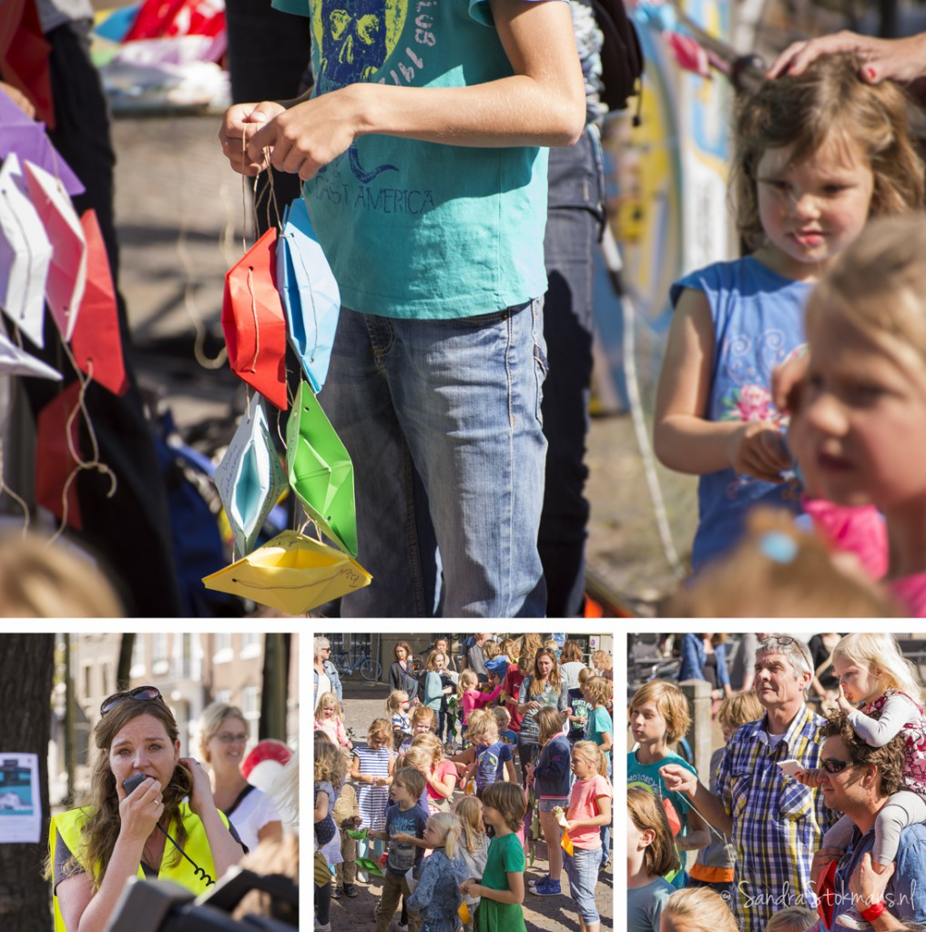 Initiatief van Non-profit organisatie Liesje Doet organiseert actie om vluchtelingenproblematiek onder de aandacht te brengen, evenement fotografie Sandra Stokmans