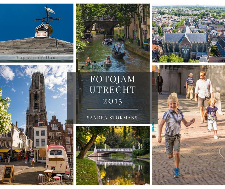 Collage foto's genomen tijdens FotoJam 2015 in Utrecht, by Sandra Stokmans