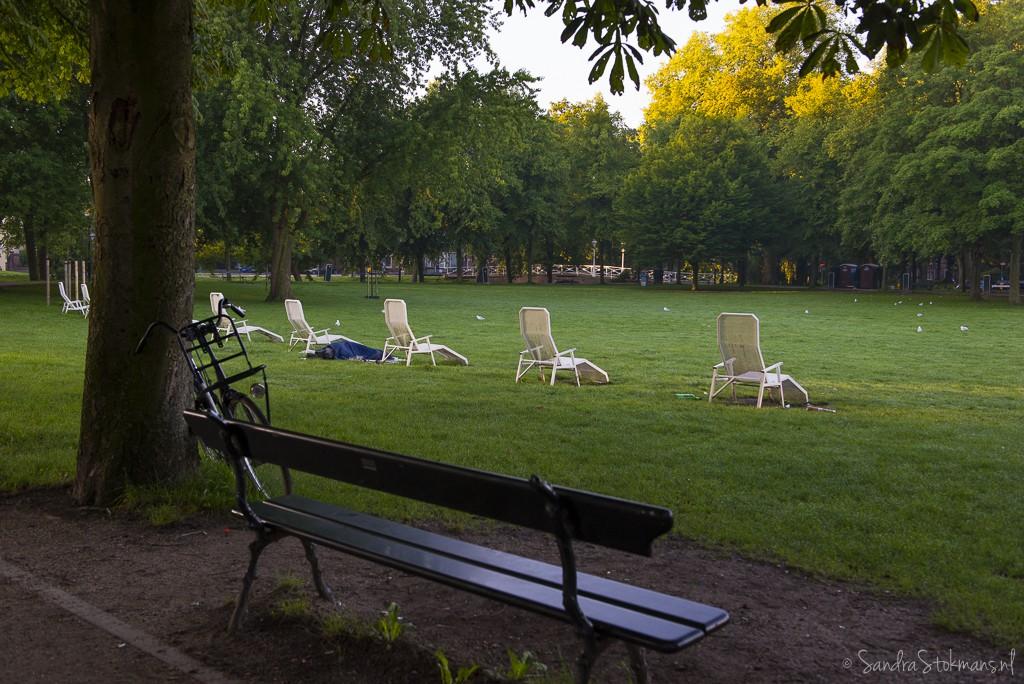 'Smorgens vroeg Park Lepelenburg stadspark in Utrecht, FotoJam 2015, by Sandra Stokmans