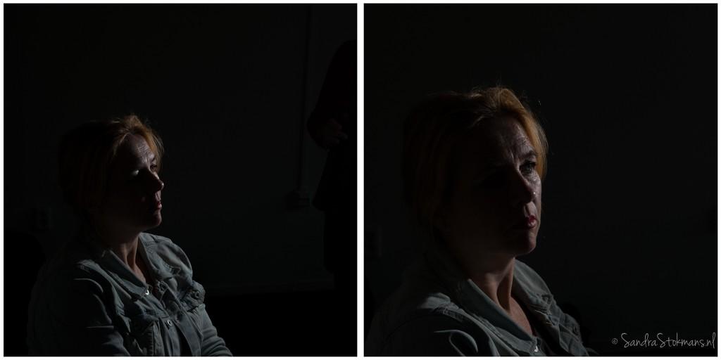 Portretfoto gemaakt met losstaande reportageflister door Sandra Stokmans