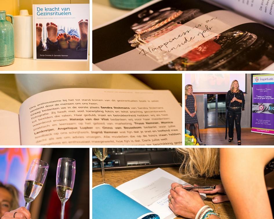 Sandra Stokmans Fotografie heeft het fotografisch beeldmateriaal verzorgd voor het boek De kracht van Gezinsrituelen van Inspirituals