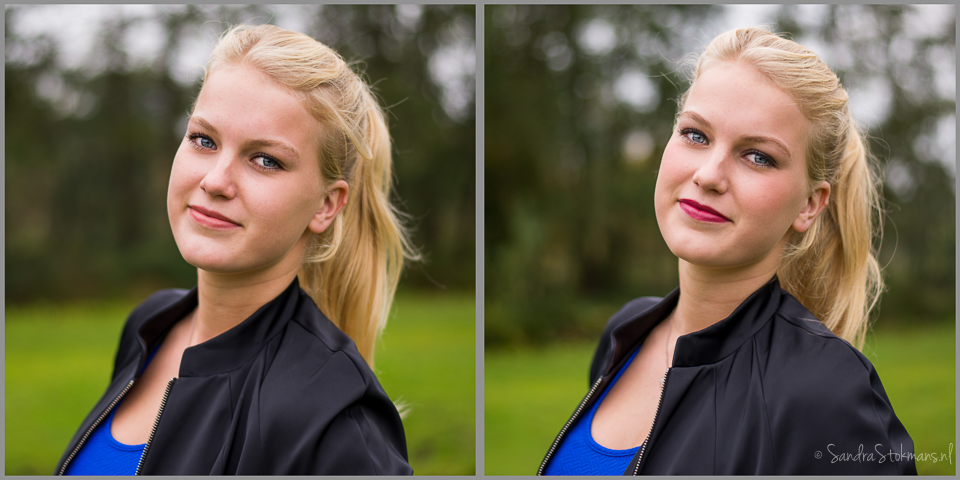 Fotoshoot tips make-up door Sandra Stokmans