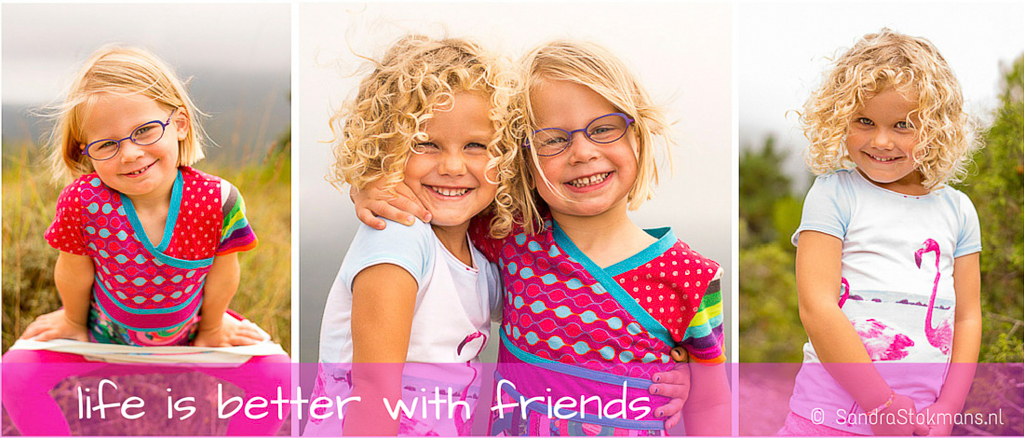 Sandra Stokmans Fotografie, Canva, life is better with friends, quote Sandra Stokmans