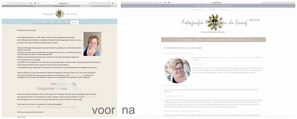 Wordpress website bouwen, webdesign door Sandra Stokmans