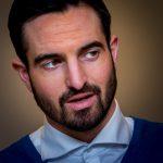 Portret van een zakenman, bedrijfsfotografie, portretfotografie Sandra Stokmans Fotografie