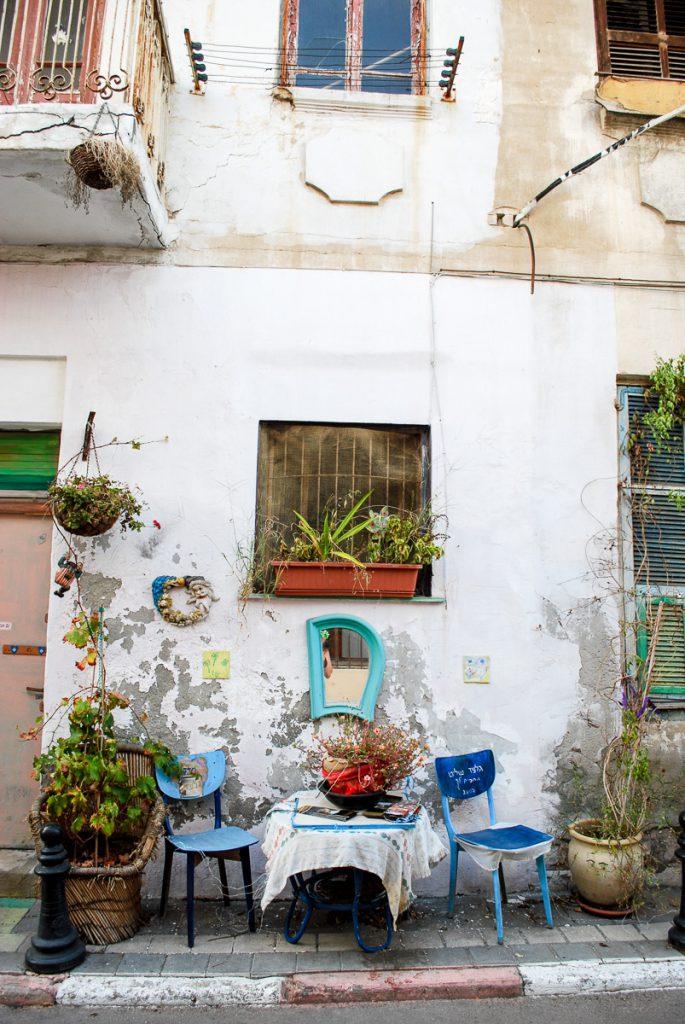 Buiten zitplaats in Israel, editorial fotografie, reisfotografie Sandra Stokmans Fotografie