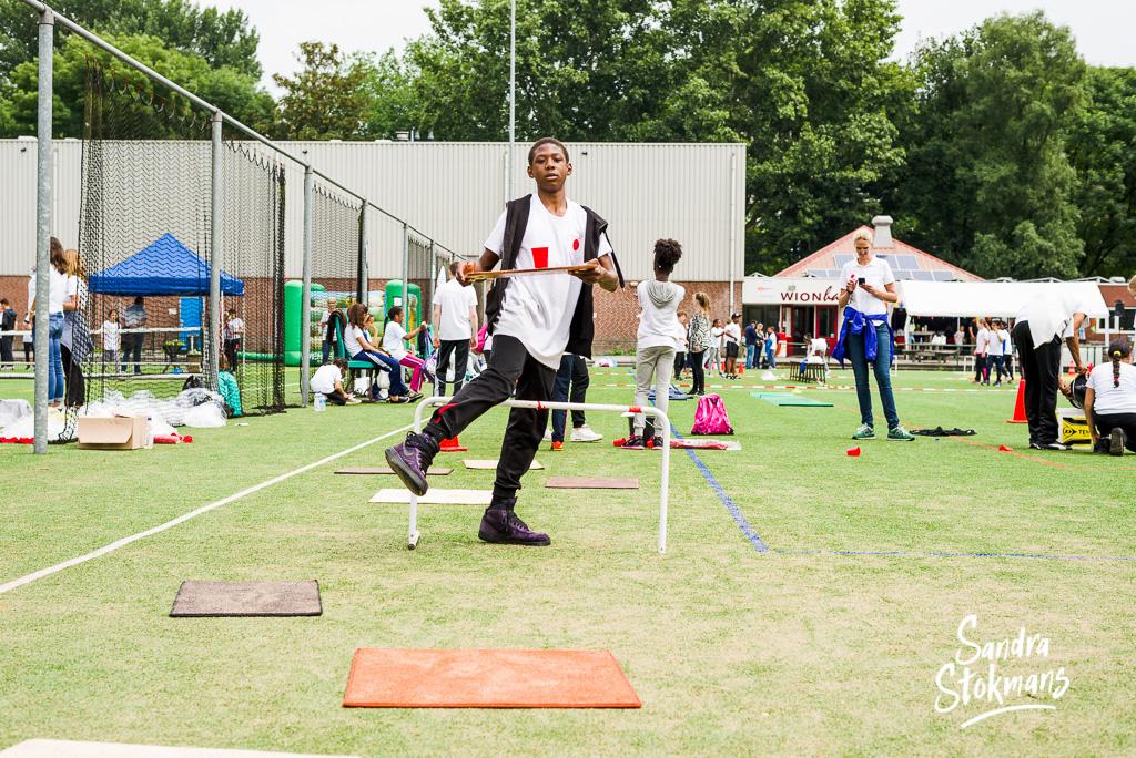 Foto reportage van Unit4 Cares Kids Sports Day in Rotterdam, foto door Sandra Stokmans Fotografie