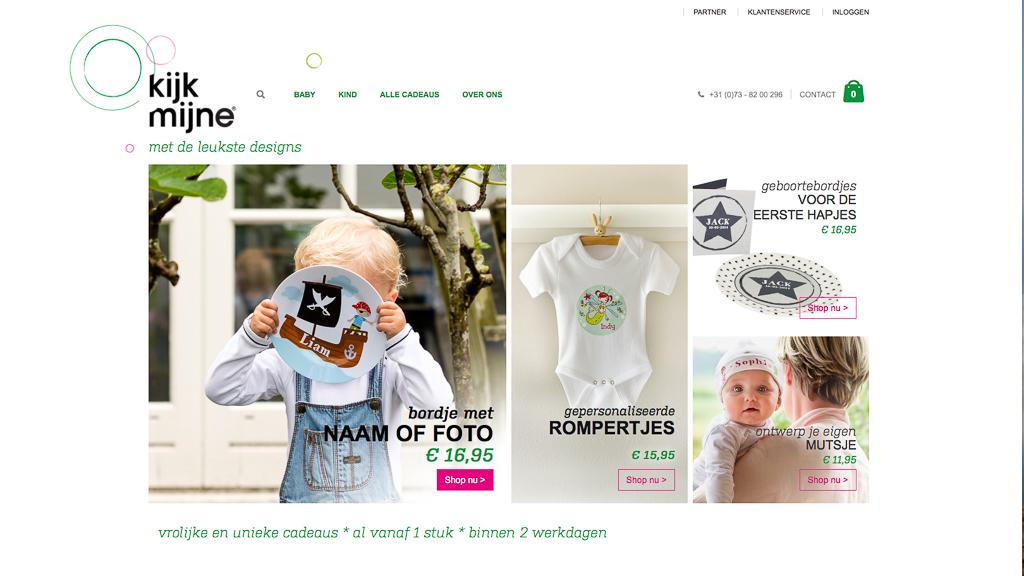 Foto's voor de website van KijkMijne door Sandra Stokmans Fotografie, website-fotografie
