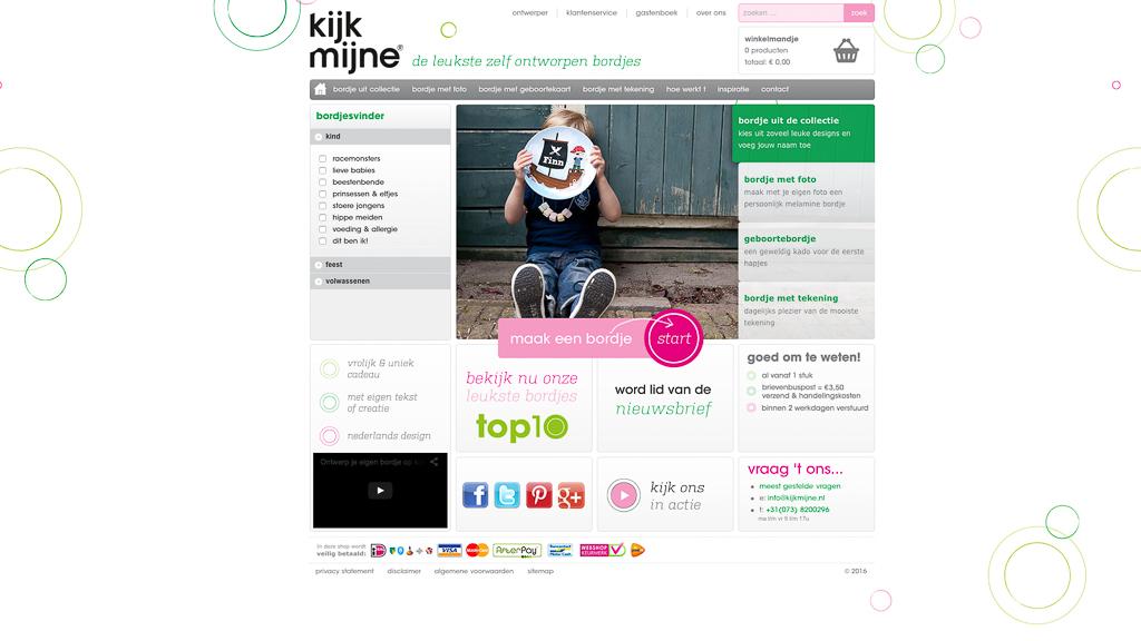 KijkMijne website voor