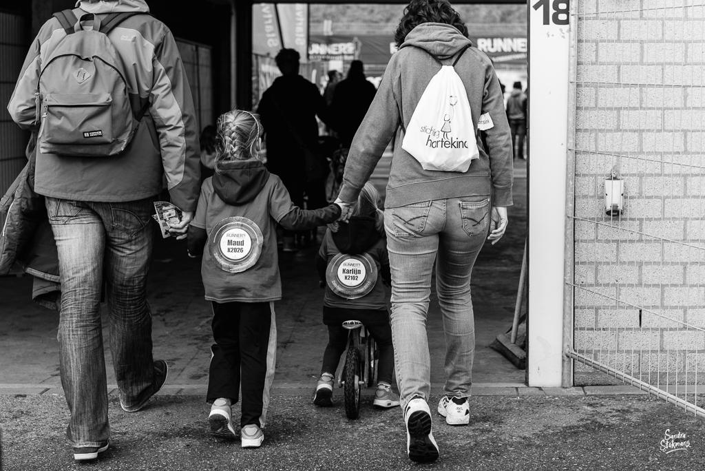 Beeldverslag van het evenement Kids Run op Zandvoort voor Stichting Hartekind, Evenement reportage door Sandra Stokmans Fotografie