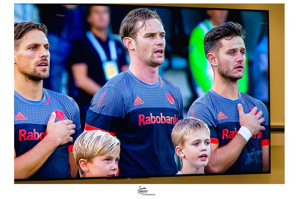 365 Dagen Project, Zoon op TV met EK Hockey-Nederlands elftal mannen hockey, foto door Sandra Stokmans Fotografie