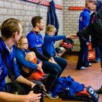 MHV Maarssen, in de kleedkamer, reportage mini van de week Heren 1 door Sandra Stokmans Fotografie