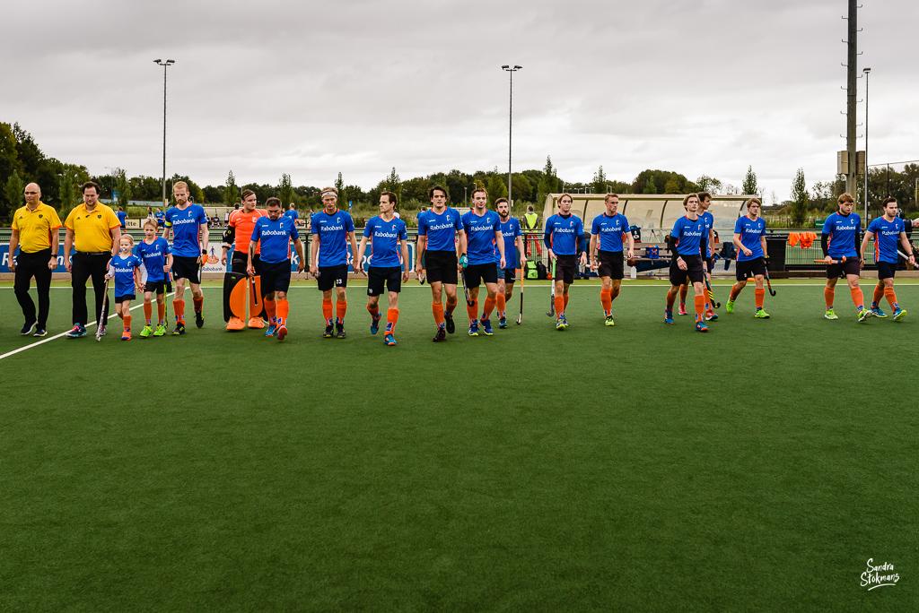 MHV Maarssen, line-up, reportage mini van de week Heren 1 door Sandra Stokmans Fotografie