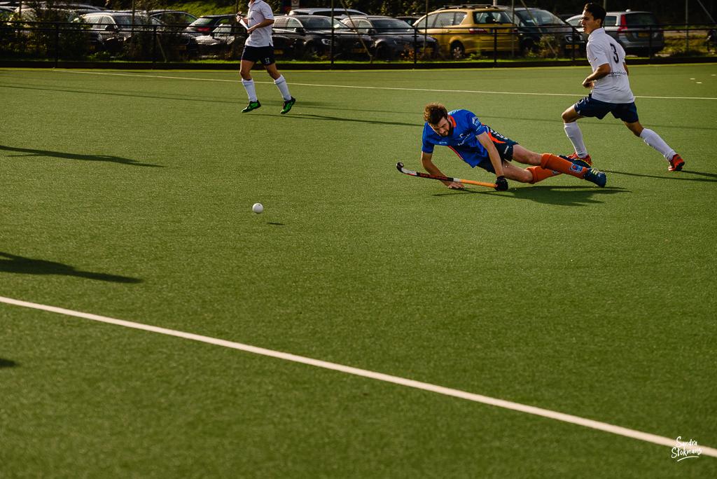 MHV Maarssen, hockey wedstrijd, reportage Heren 1 door Sandra Stokmans Fotografie