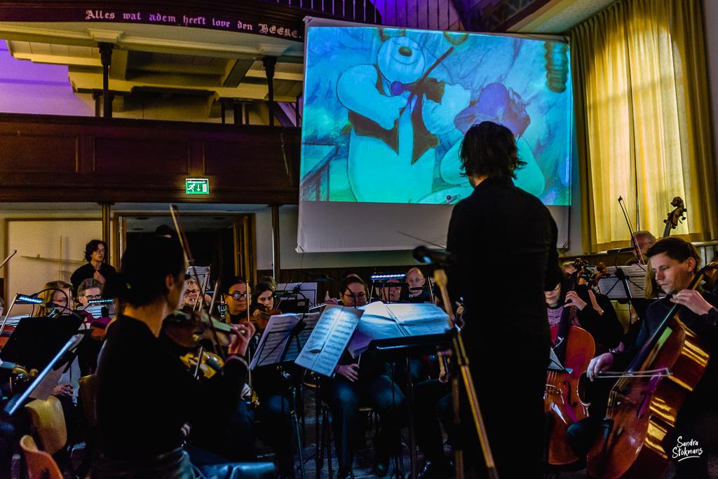Ridderkerks Symfonieorkest, documentaire reportage fotografie, foto door Sandra Stokmans Fotografie