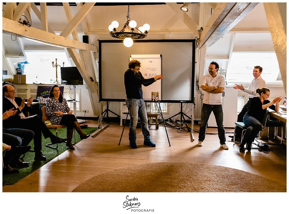 Fotoreportage maken van de HEI Challenge met Thomas Blekman, foto door Sandra Stokmans Fotografie