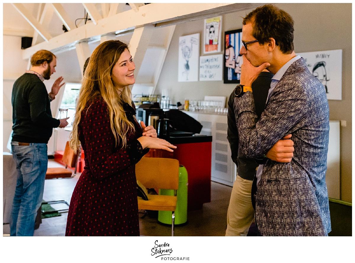 Fotoreportage maken van de kennismakingsronde HEI Challenge, foto door Sandra Stokmans Fotografie