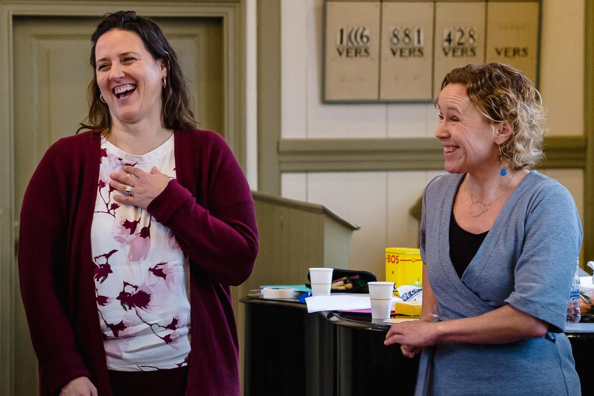 Training fotograferen, Firijn aan het werk, foto van de ondernemers voor op hun website, Sandra Stokmans Fotografie