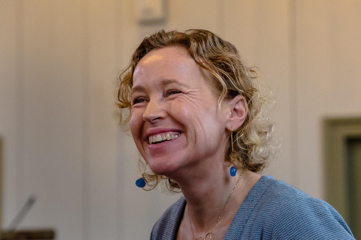 Training fotograferen, portret van trainer Annemieke, training van Firijn, foto door Sandra Stokmans Fotografie