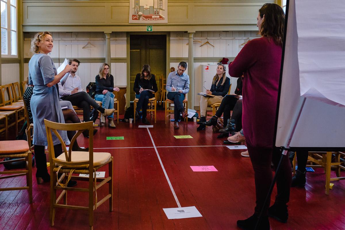 Training fotograferen, foto van de training, foto van de groepstraining voor op hun website, Sandra Stokmans Fotografie
