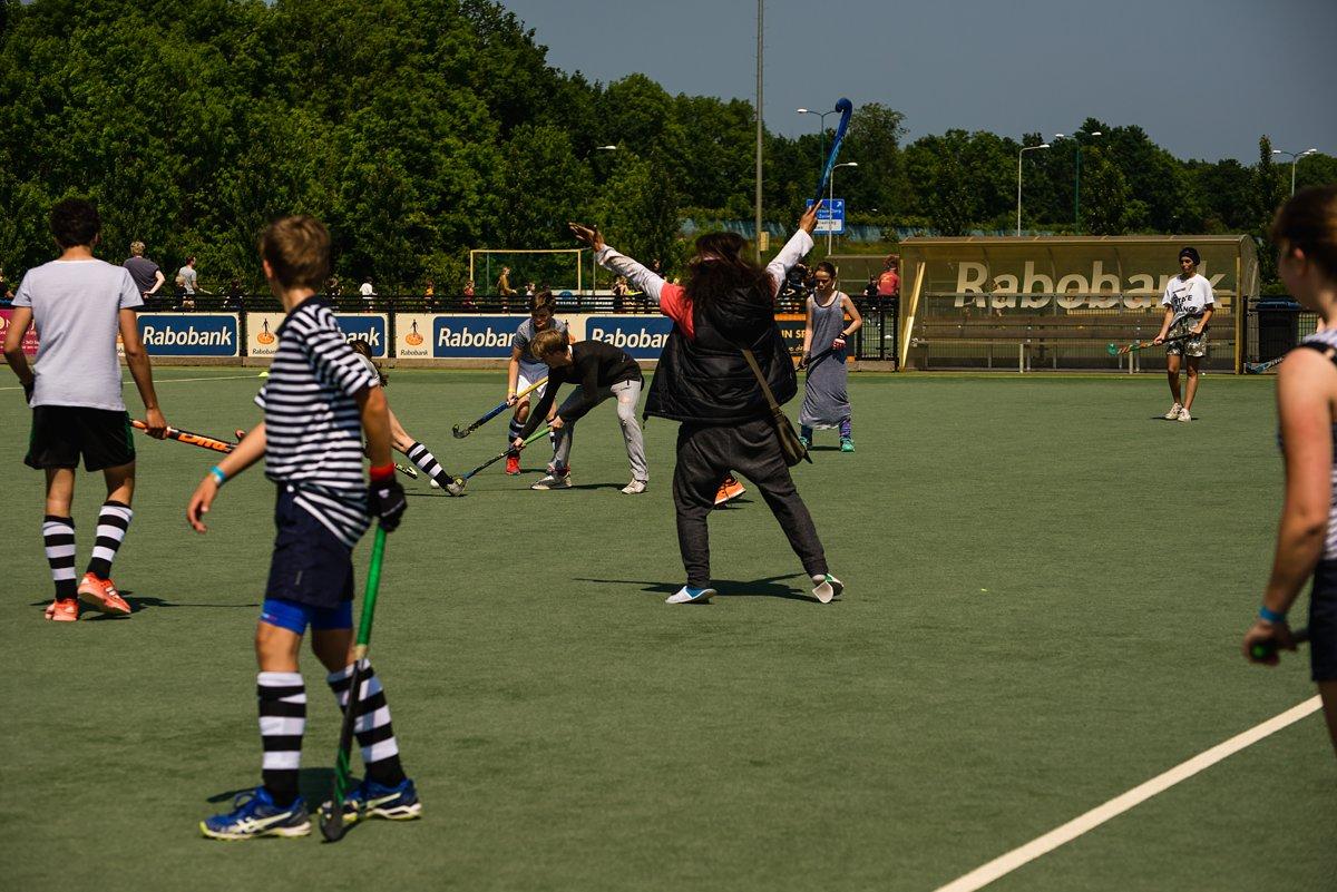 familiehockeytoernooi MHV Maarssen, team homeless people, evenement reportage, Sandra Stokmans Fotografie