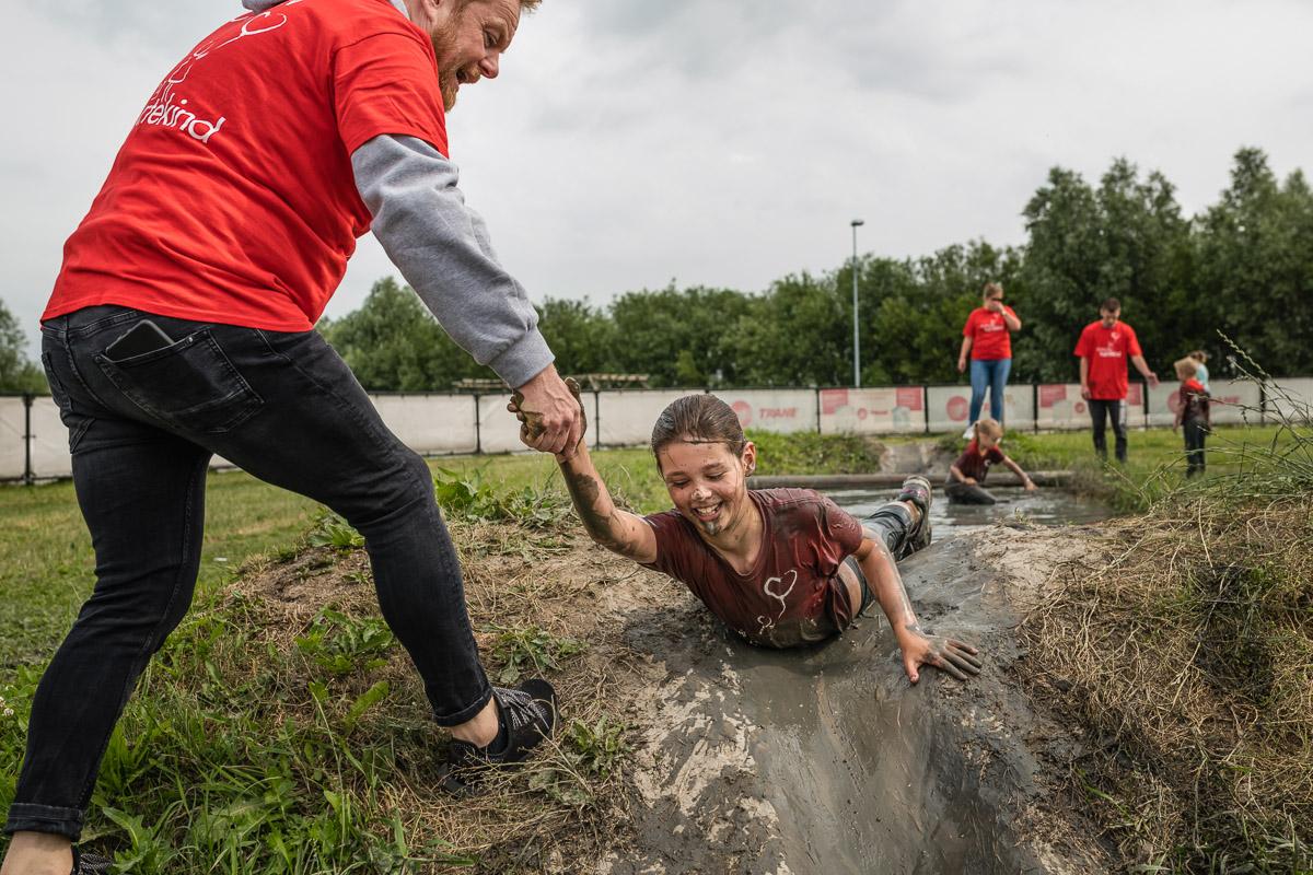 Hartekind Challenge 2018 met Martijn Fischer, Flevonice Obstacle Run, Sandra Stokmans Fotografie