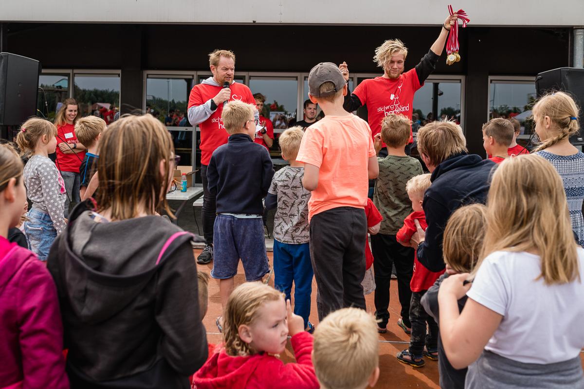 Medaille uitreiking met Martijn Fisscher en Skip Boekhorst, Hartekind Challenge 2018, Flevonice, Sandra Stokmans Fotografie