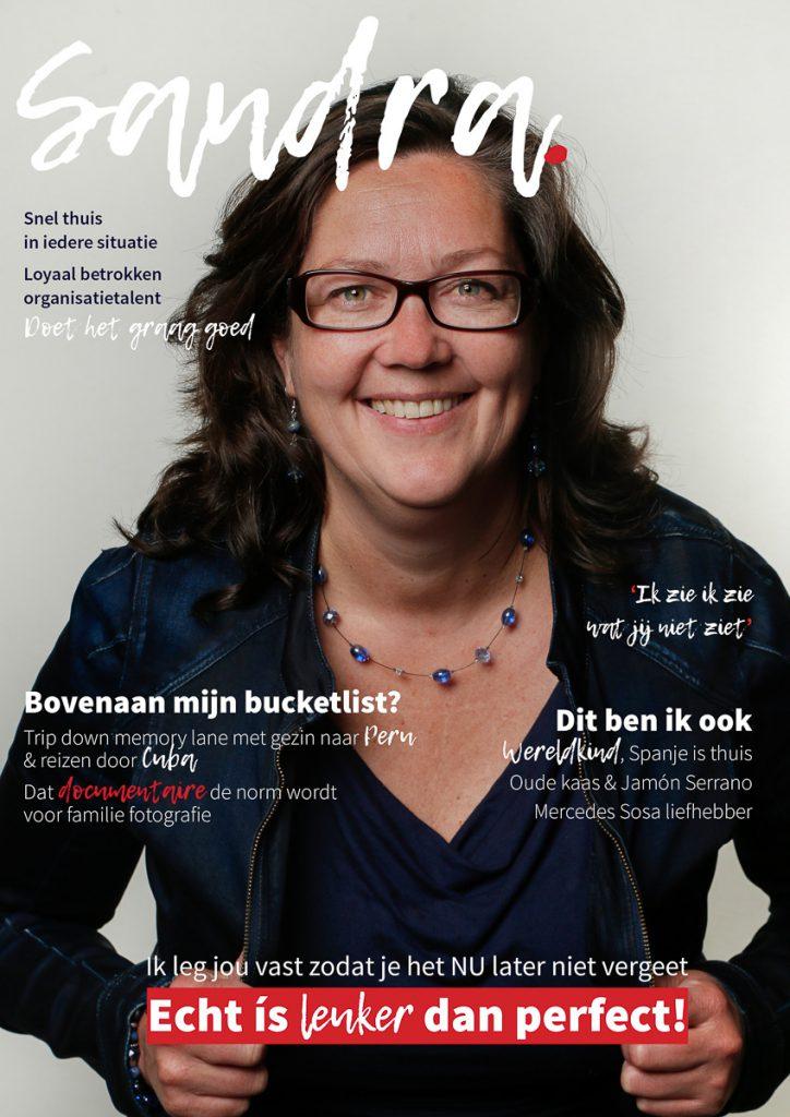 Cover van Sandra Stokmans Fotografie, gemaakt op de open coverworskhop van Kairos Consultancy