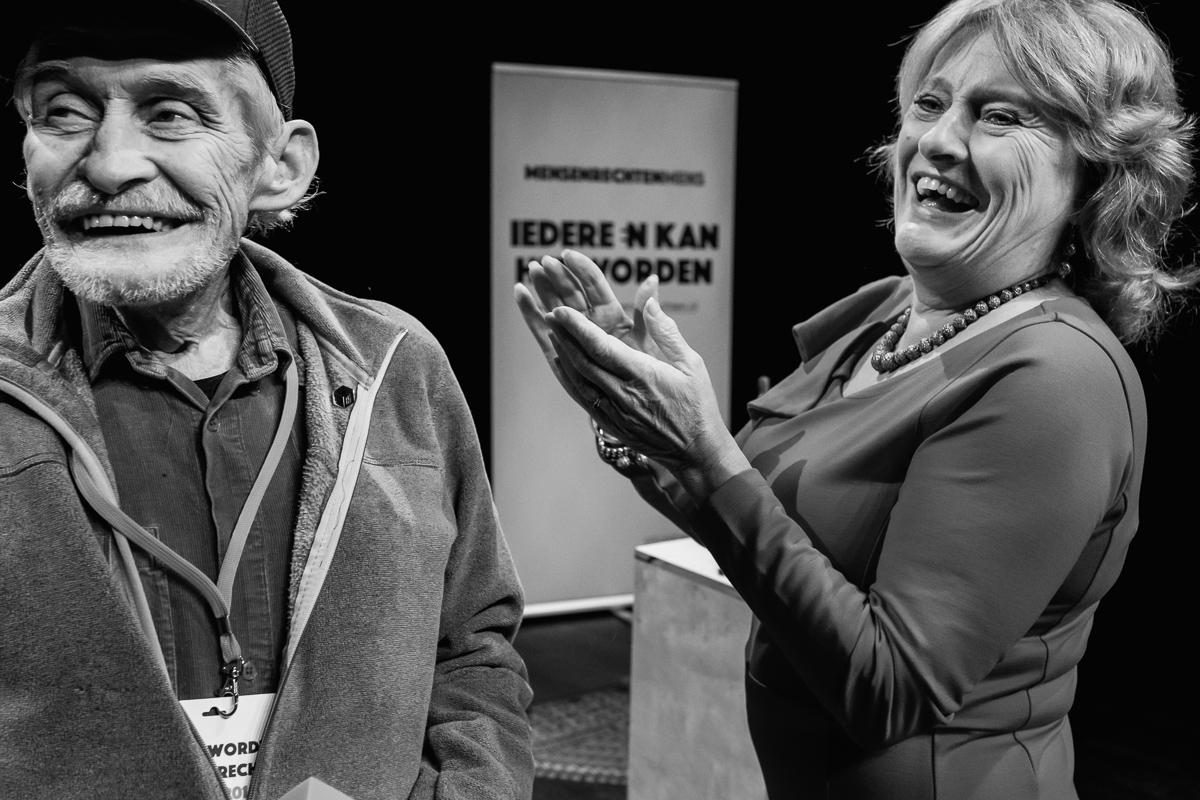 Evenement fotografie, MensenrechtenMens 2019, foto door Sandra Stokmans