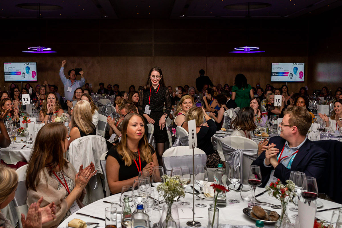 EWPN diner and award at the Hilton in Amsterdam with event photographer Sandra Stokmans Fotografie