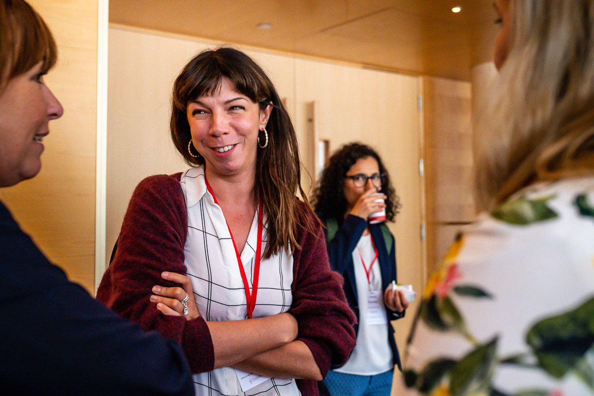 Arrival participants EWPN annual Conference, with event photographer Sandra Stokmans Fotografie