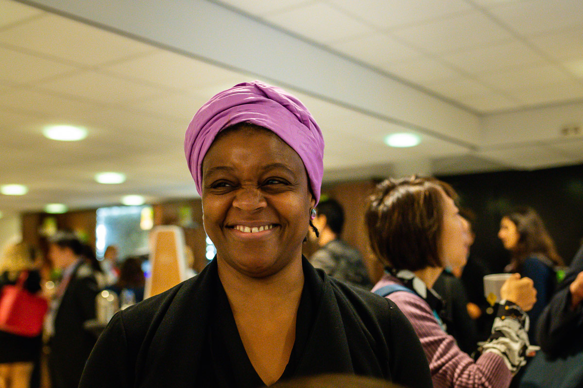 Lovely portrait of one of the attendees the EWPN Conference, with event photographer Sandra Stokmans