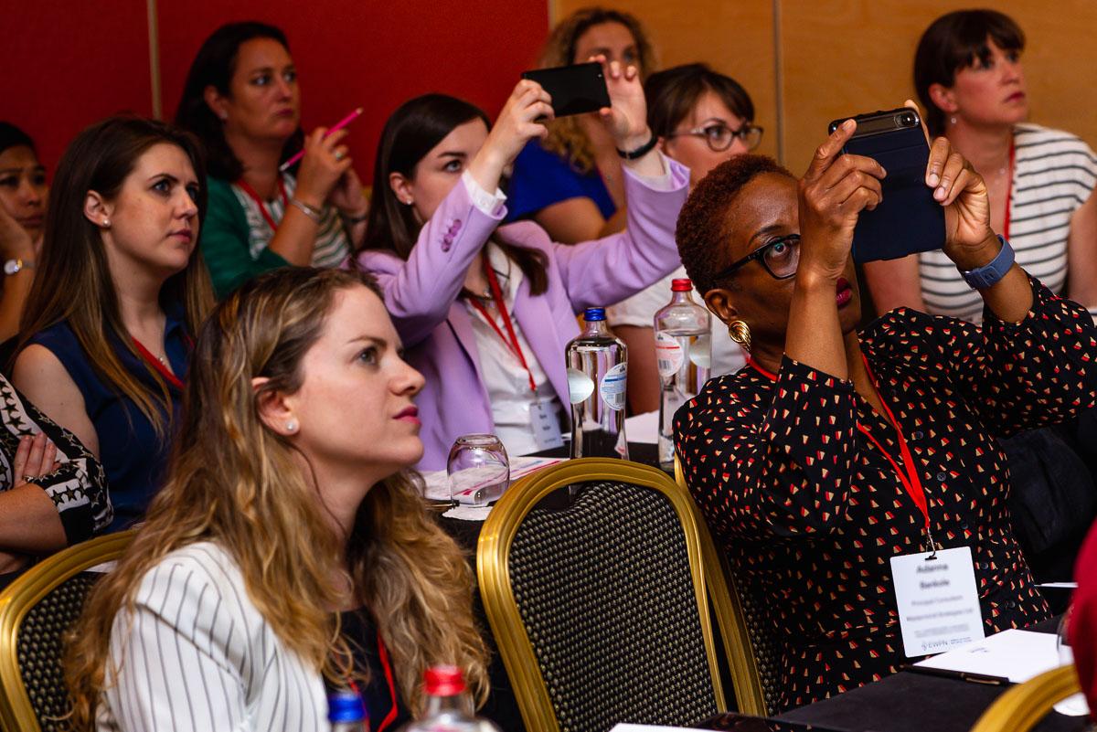 Detailshot during EWPN conference session, event photographer Sandra Stokmans Fotografie