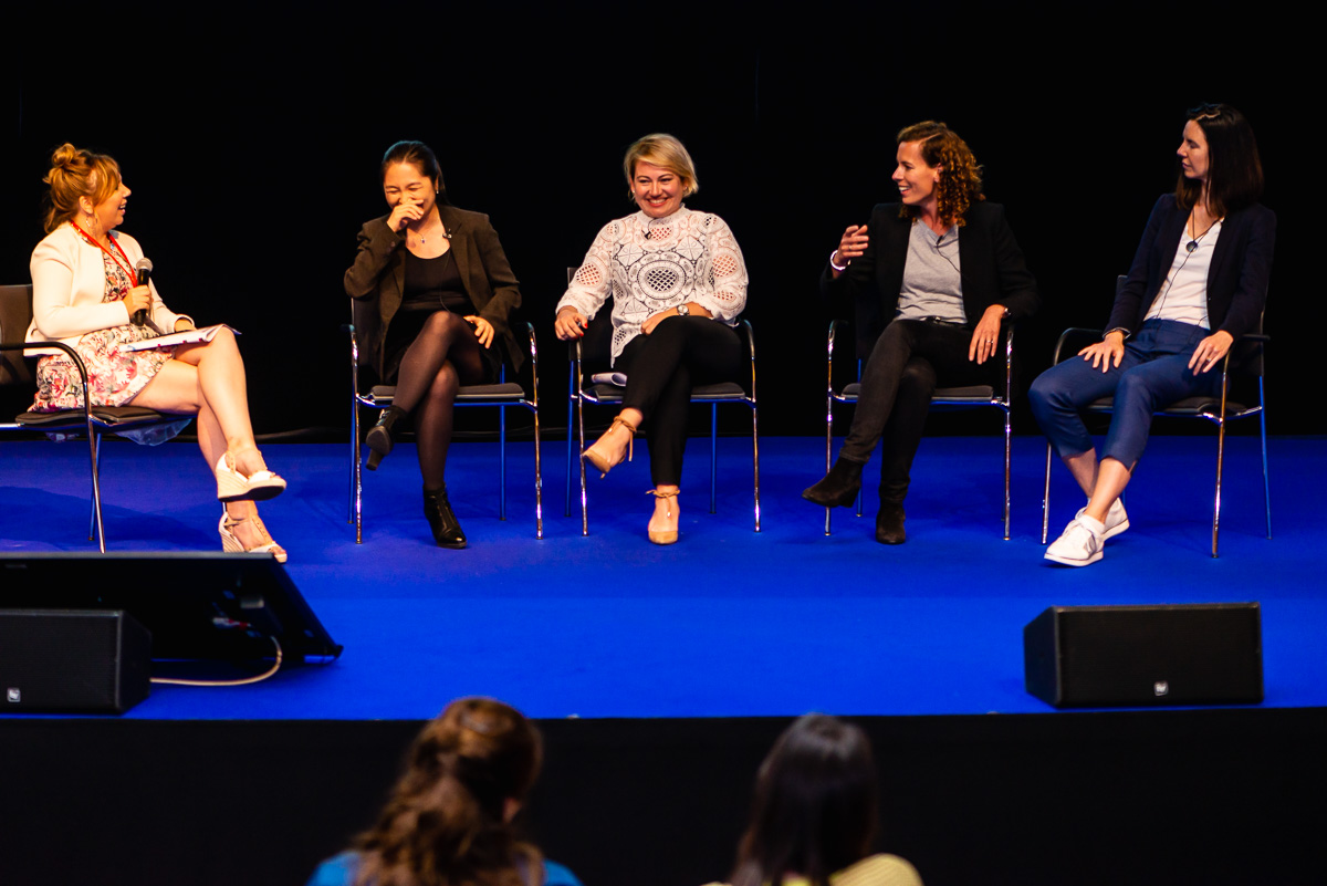 One of the panel discussions at the EWPN Conference 2019 at the RAI Amsterdam with event photographer Sandra Stokmans Fotografie