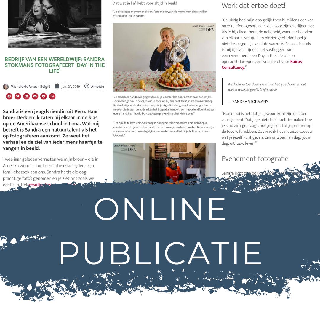 Online publicatie De Wereldwijven, Sandra Stokmans