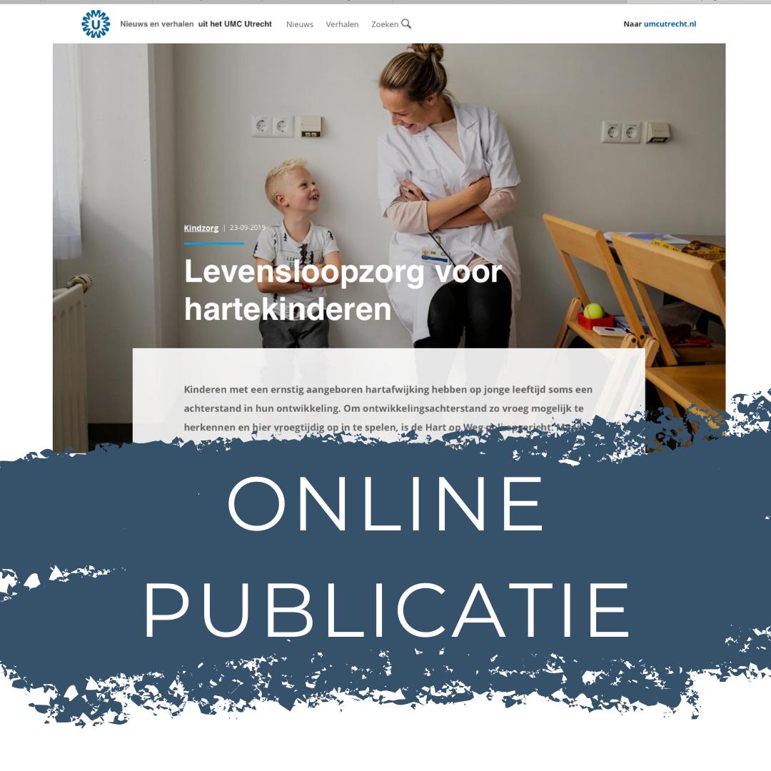 Online publicatie UMC Utrecht, Sandra Stokmans Fotografie