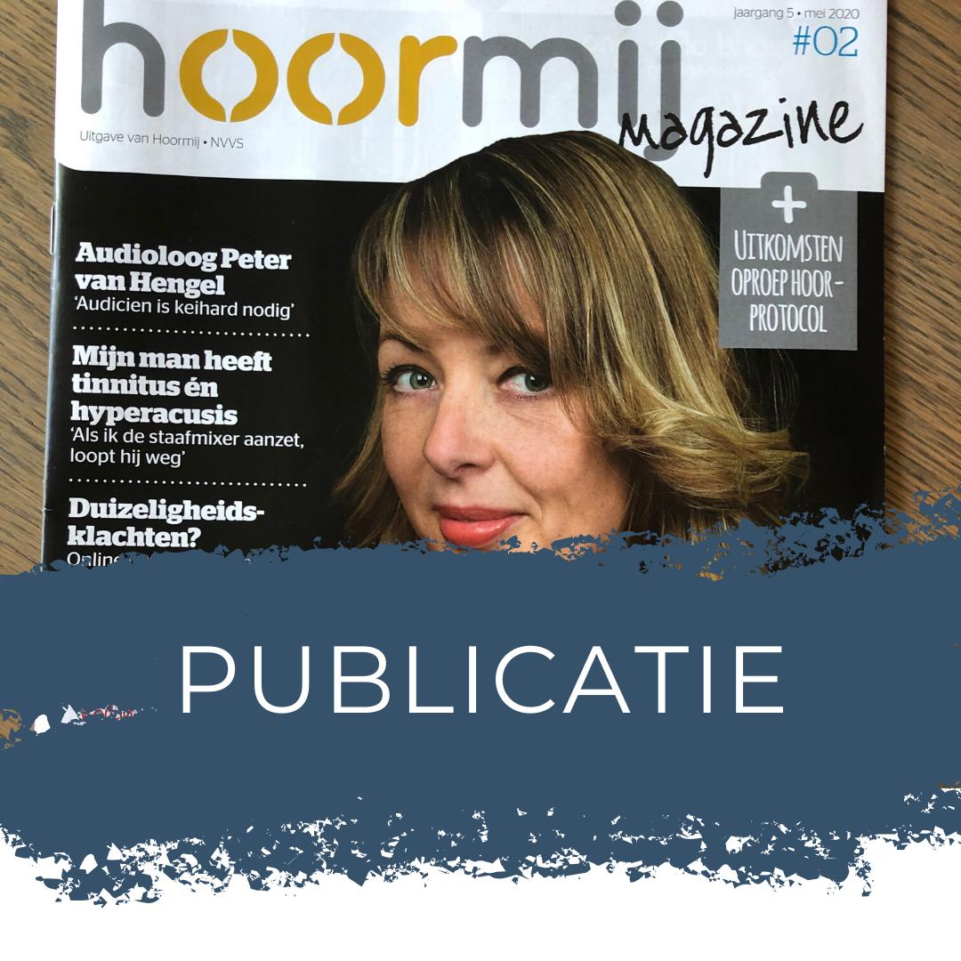 Publicatie Stichting Hoormij