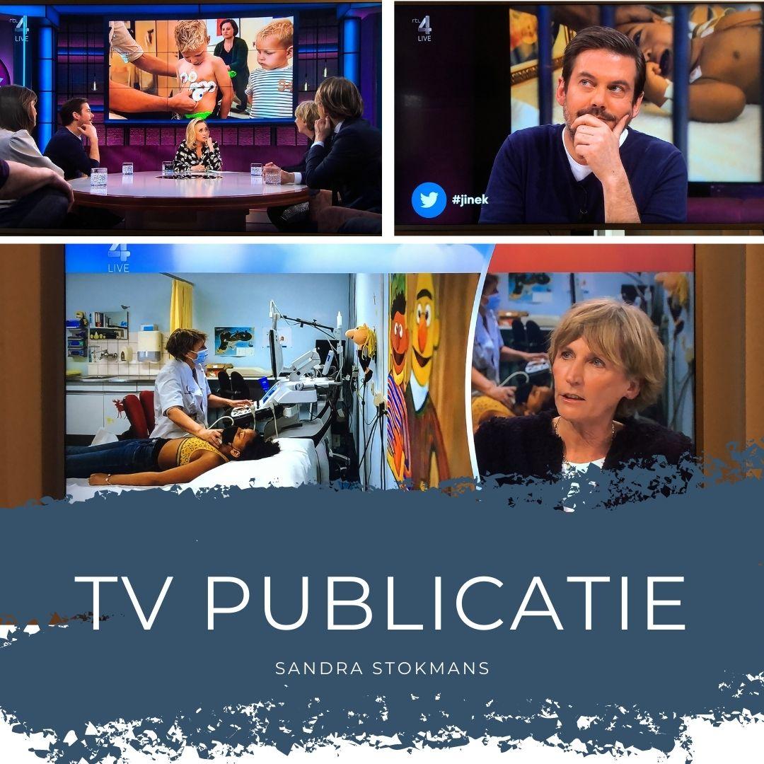 TV uitzending Eva Jinek met Ruben Nicolai op RTL4, zakelijke fotografie, fotos uit ProjectHartekind van Sandra Stokmans Fotografie